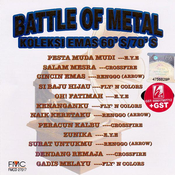 Battle Of Metal - Koleksi Emas 60's/70's