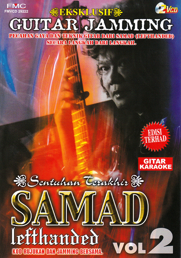 Samad Lefthanded - Guitar Jamming Vol.2