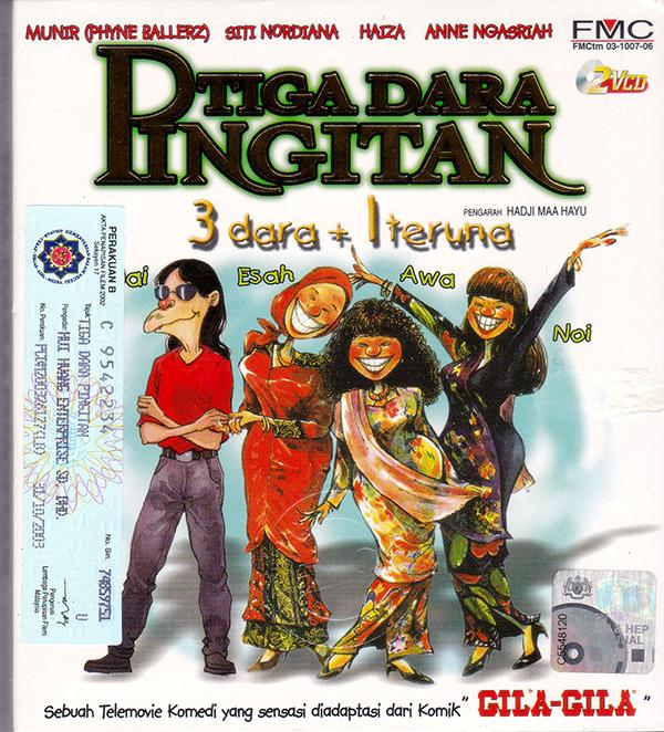 Tiga Dara Pingitan