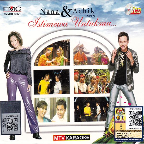 Nana & Achik - Istimewa Untukmu MTV Karaoke