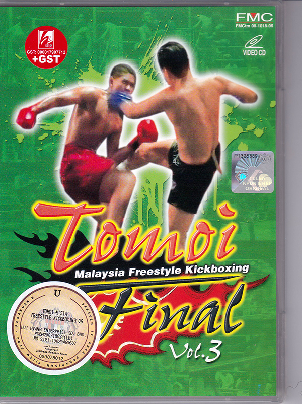 Tomoi Malaysia Freestyle Kickboxing Final Vol.3